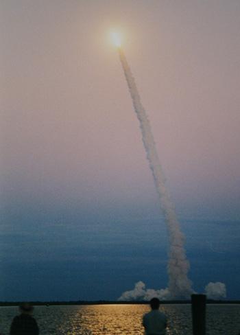 michael j dixon space shuttle