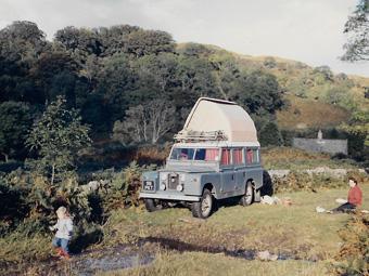 land rover series 2A camping van