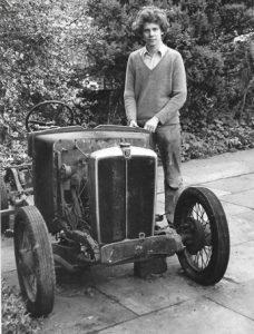 1934 morris minor 2 seater open tourer, very rusty