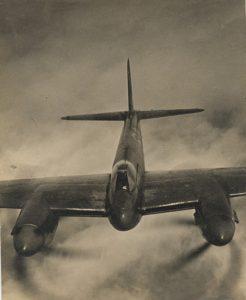 mosquito aircraft aerial shot